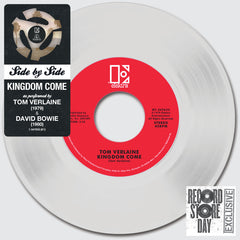 "David Bowie / Tom Verlaine: Side By Side - Kingdom Come Vinyl 7"" (Record Store Day)"