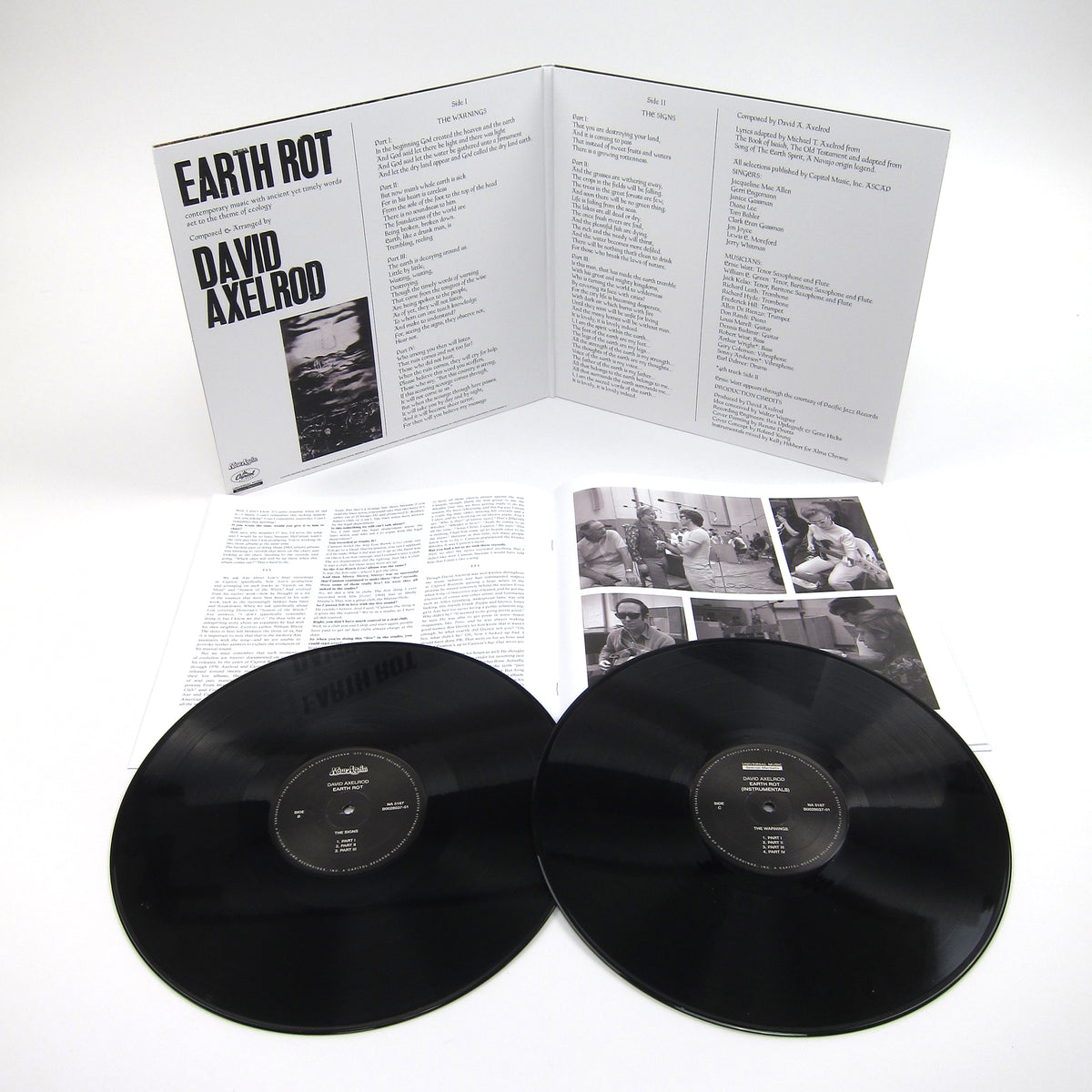 David Axelrod: Earth Rot Vinyl 2LP (Record Store Day)