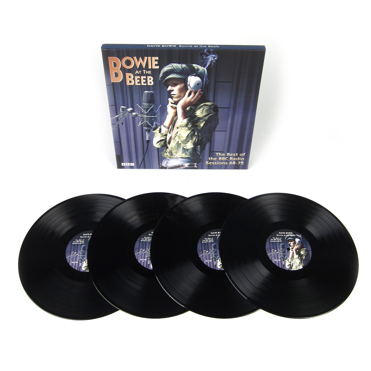 David Bowie: Bowie At The Beeb - The Best Of The BBC Radio Sessions '68-'72 (180g) Vinyl 4LP Boxset