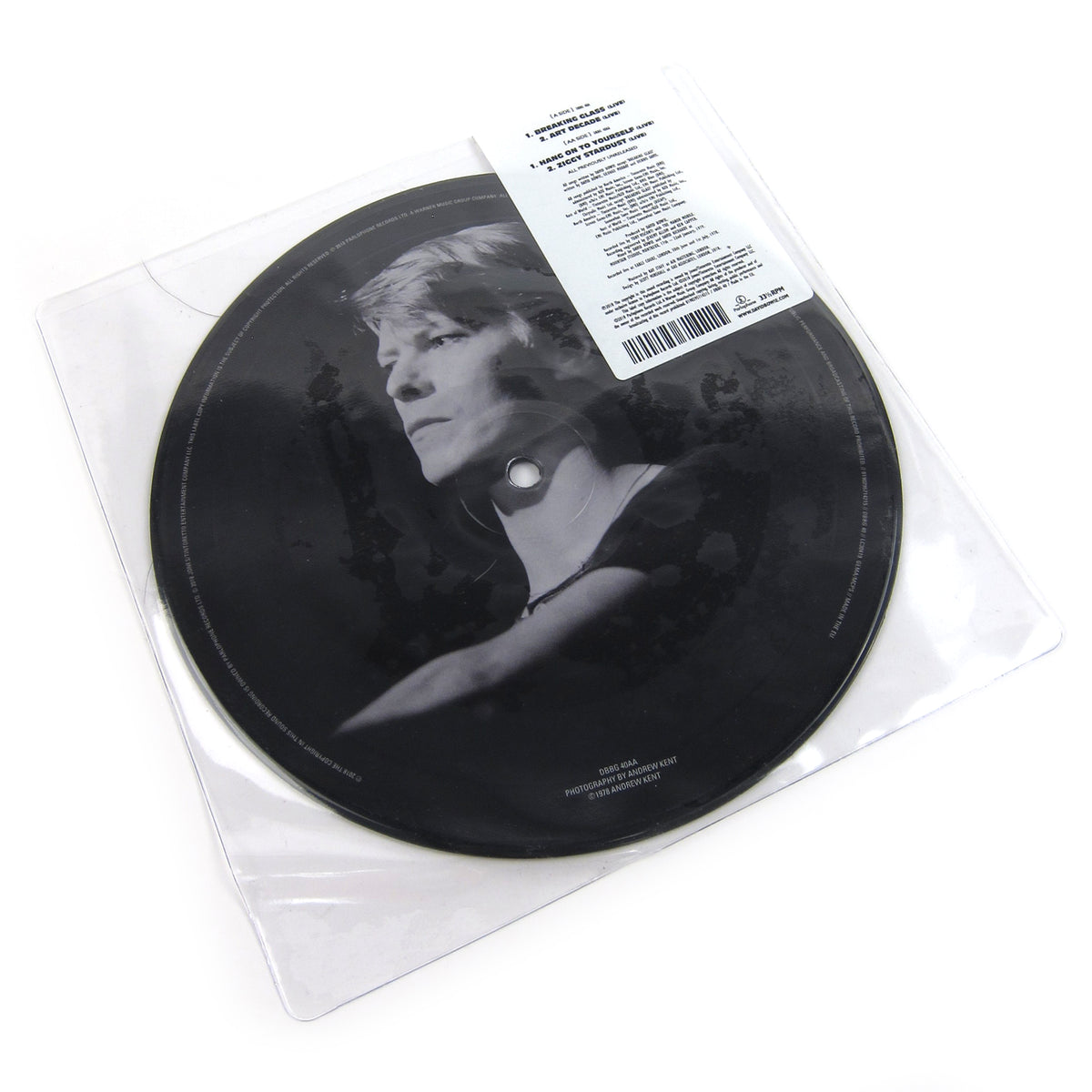 David Bowie: Breaking Glass E.P. (Pic Disc) Vinyl 7""