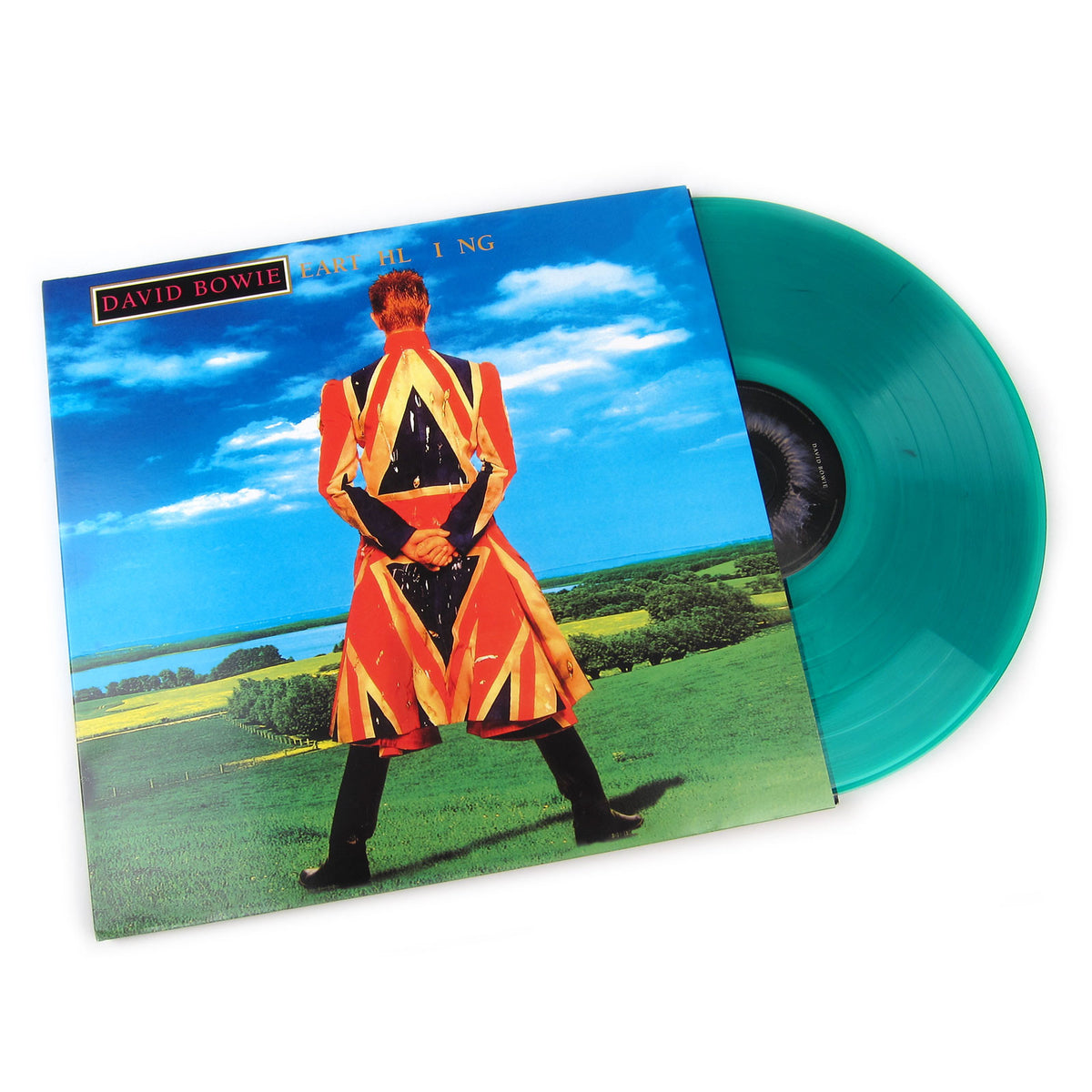 David Bowie: Earthling (180g Colored Vinyl) Vinyl LP (Record Store Day)