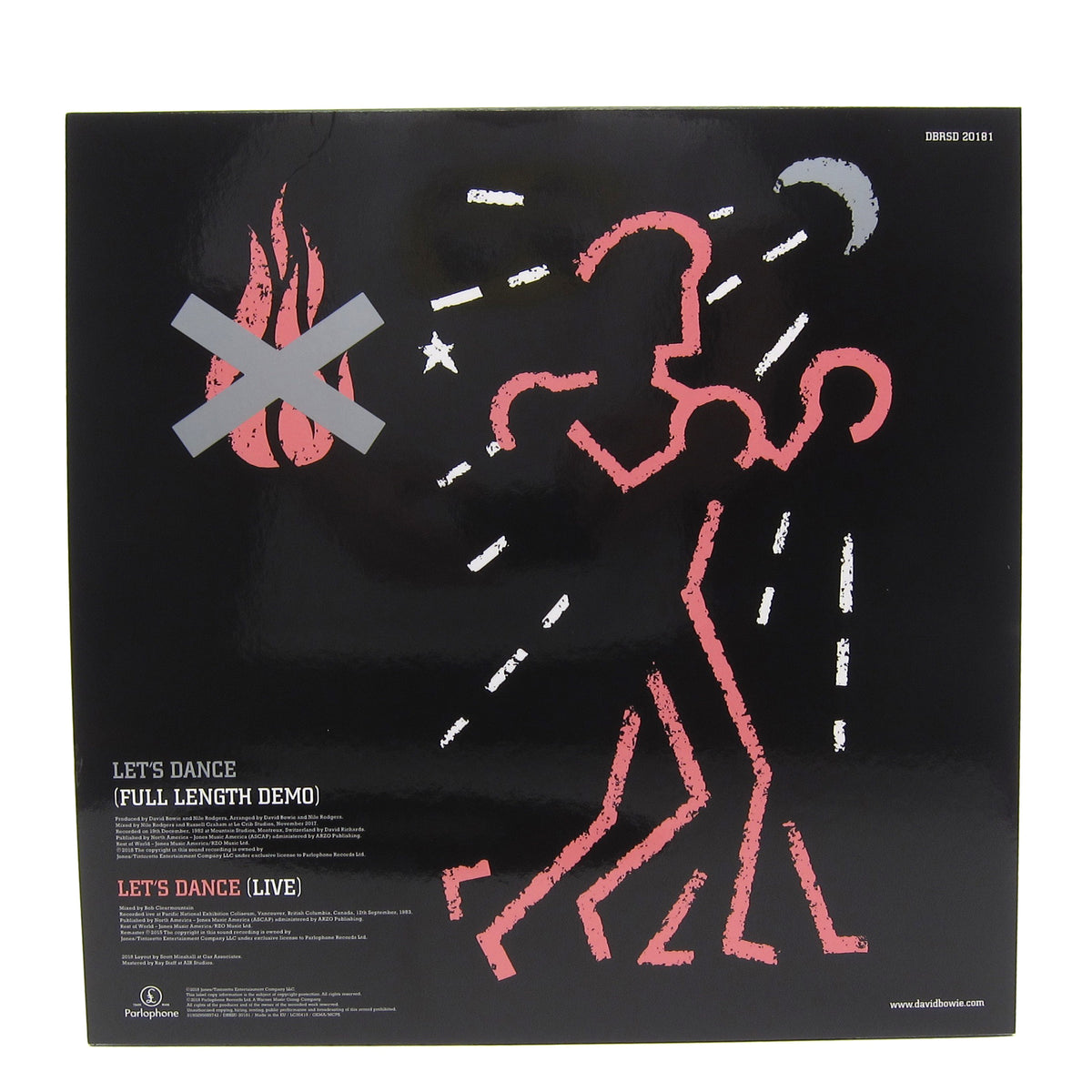 "David Bowie: Let's Dance (Demo) Vinyl 12"" (Record Store Day)"