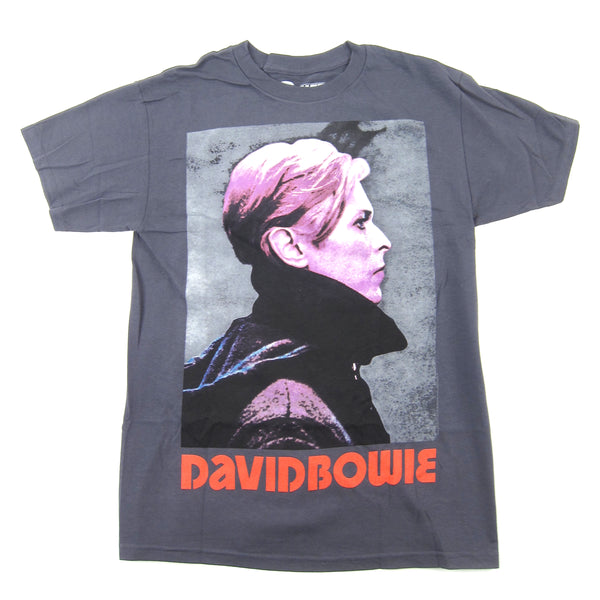 David Bowie: Low Portrait Shirt - Grey