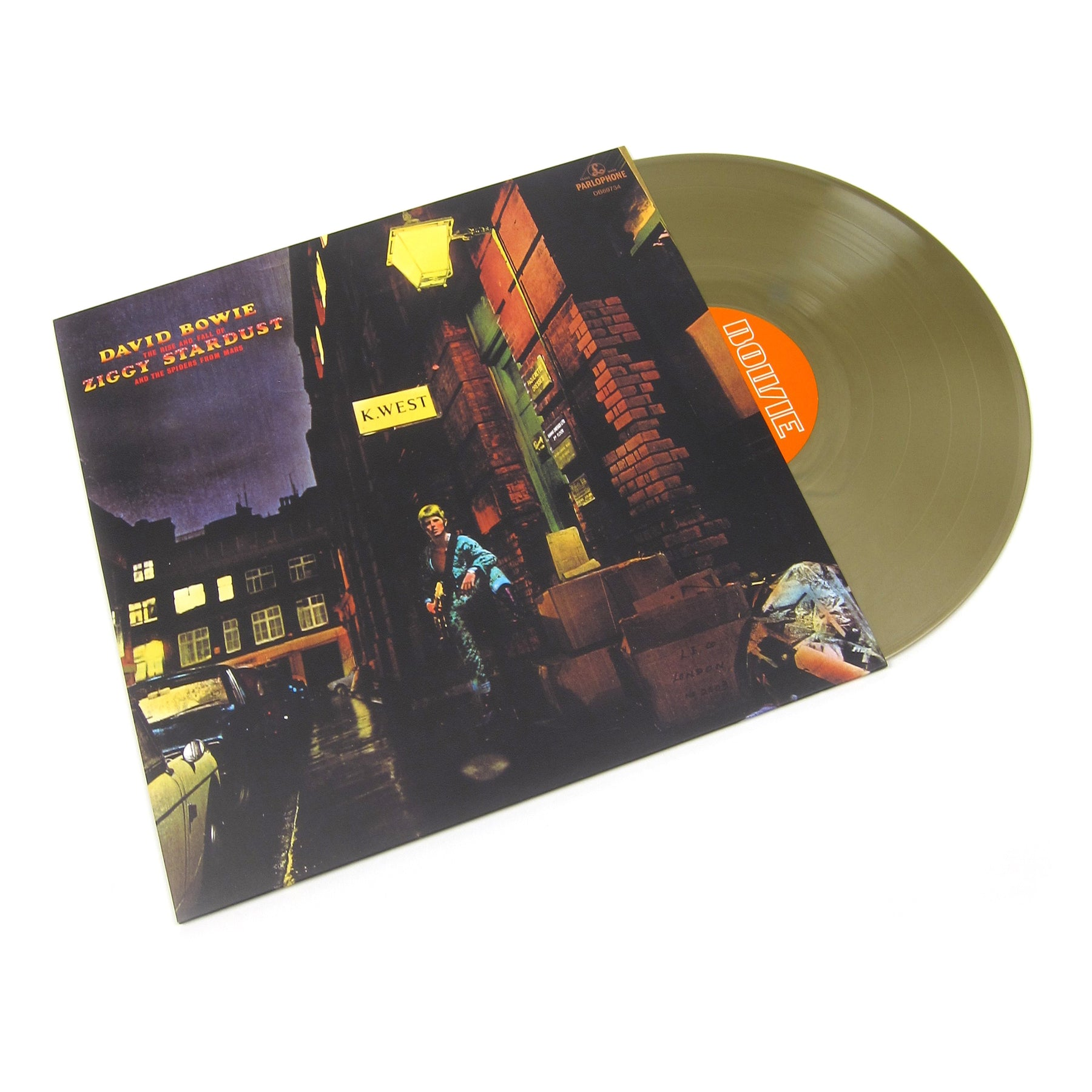 David Bowie The Rise and Fall Of Ziggy Stardust And The Spiders From Mars  (Gold Colored Vinyl) Vinyl LP