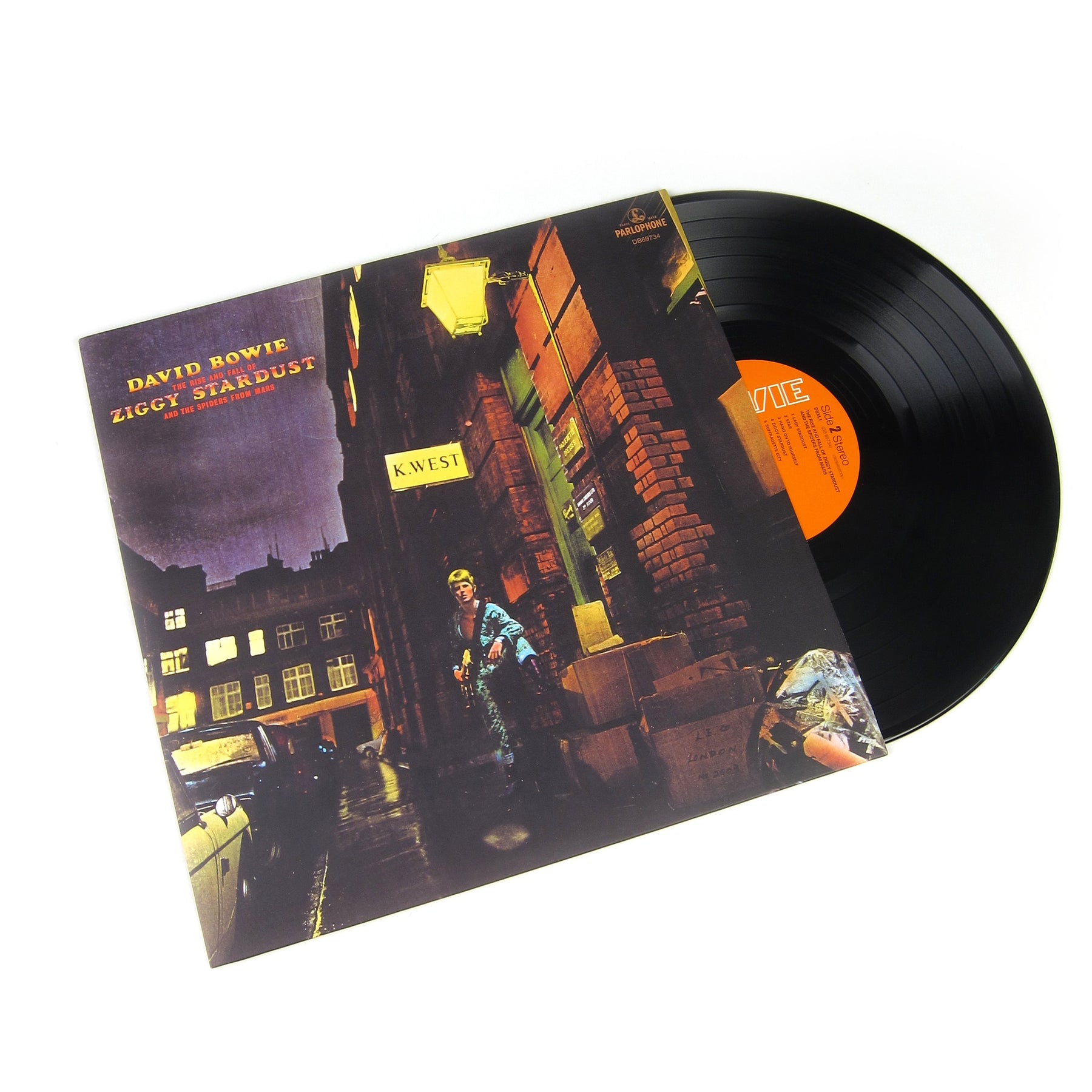David Bowie The Rise And Fall Of Ziggy Stardust And The Spiders From Mars  (180g) Vinyl LP