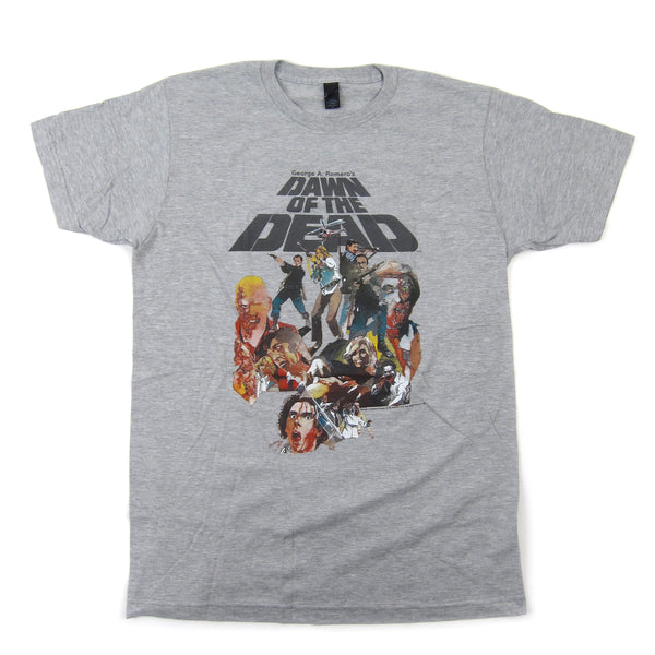 Dawn Of The Dead: Watercolor Shirt - Heather Grey