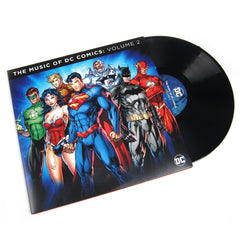 DC Comics: The Music Of DC Comics Vol.2 Vinyl 2LP