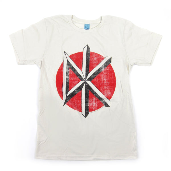 Dead Kennedys: Distressed Logo Shirt - White