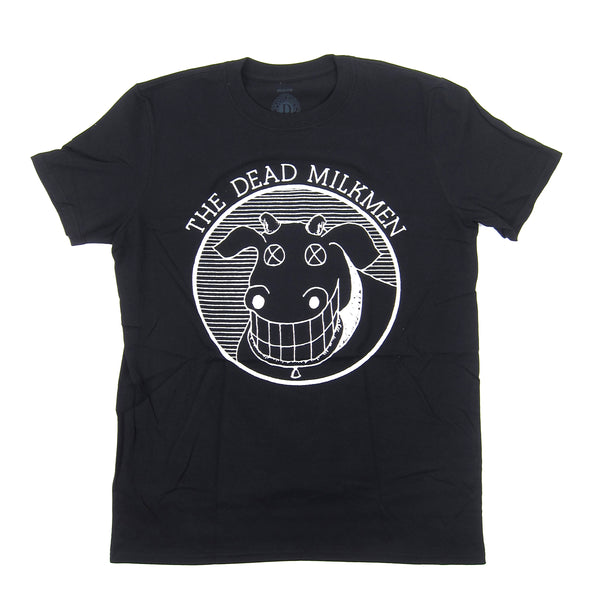 The Dead Milkmen: Cow Logo Shirt - Black