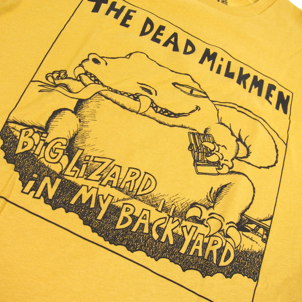 The Dead Milkmen: Big Lizard Shirt - Ginger