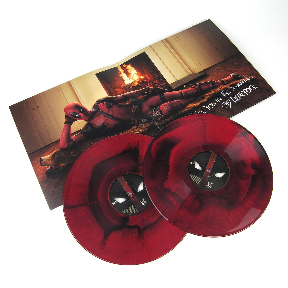 Junkie XL: Deadpool Soundtrack (180g, Colored Vinyl) Vinyl 2LP