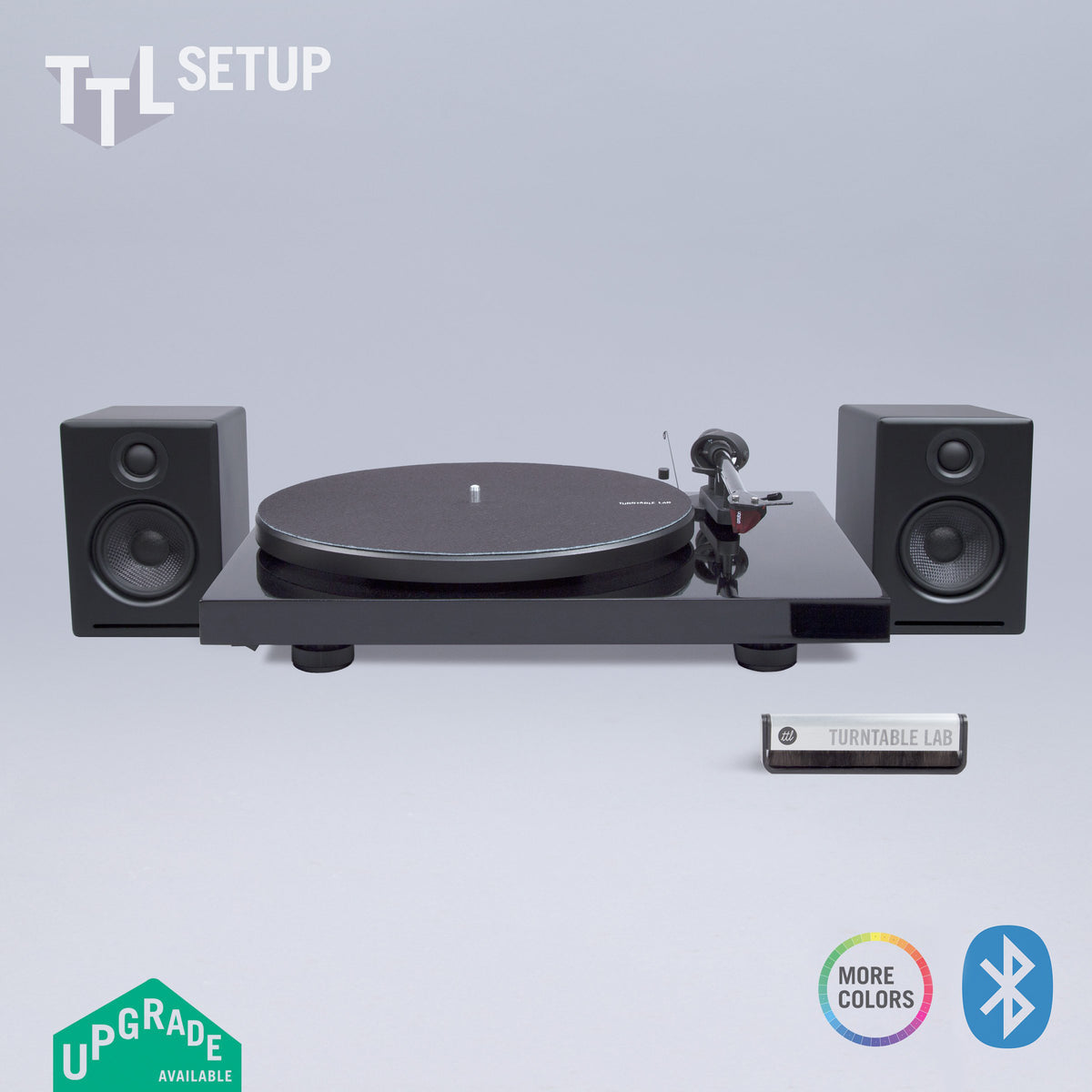 Pro-Ject: Debut Carbon DC / Audioengine A2+ Bluetooth / Turntable Package (TTL Setup)