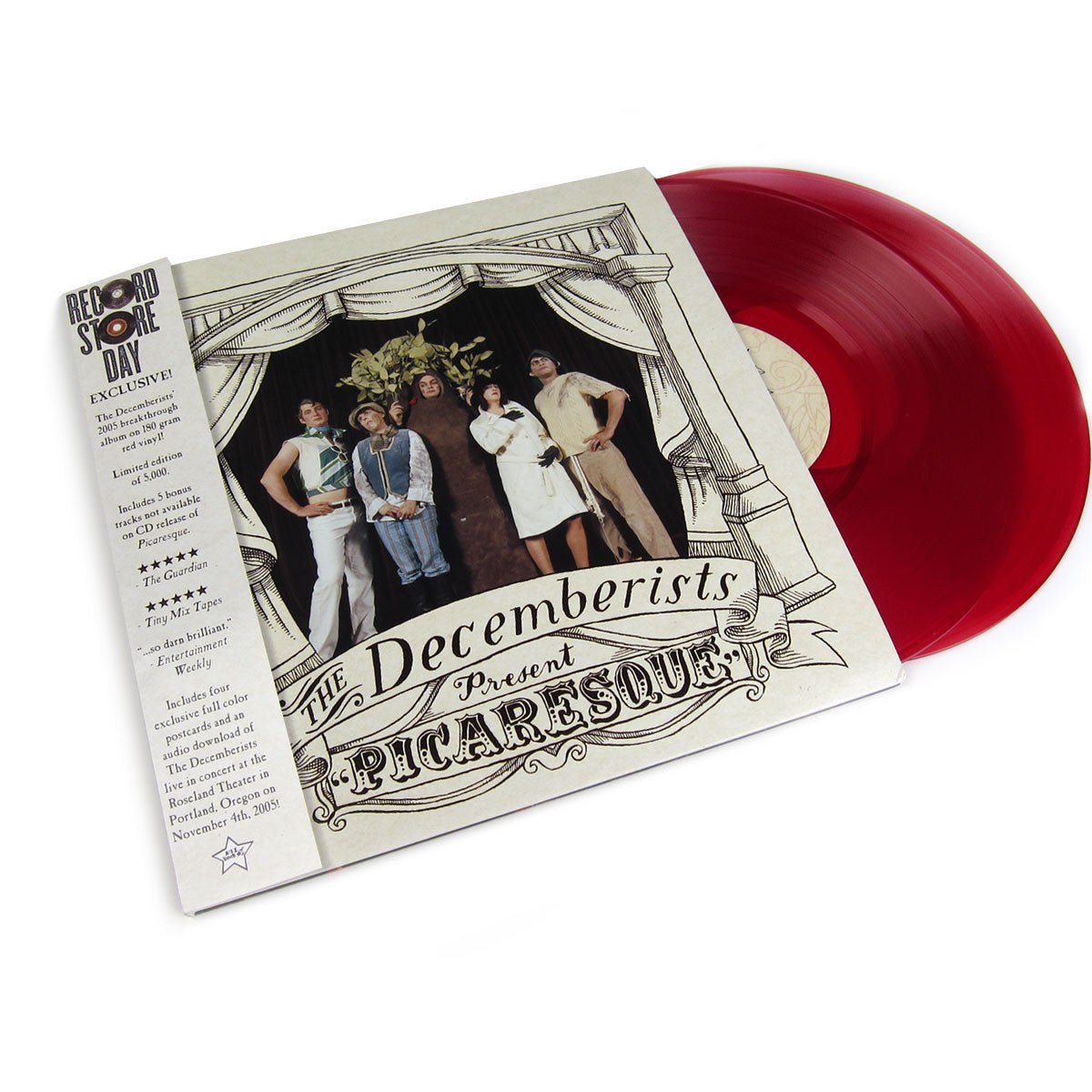 The Decemberists Picaresque Red Vinyl Vinyl Lp Record
