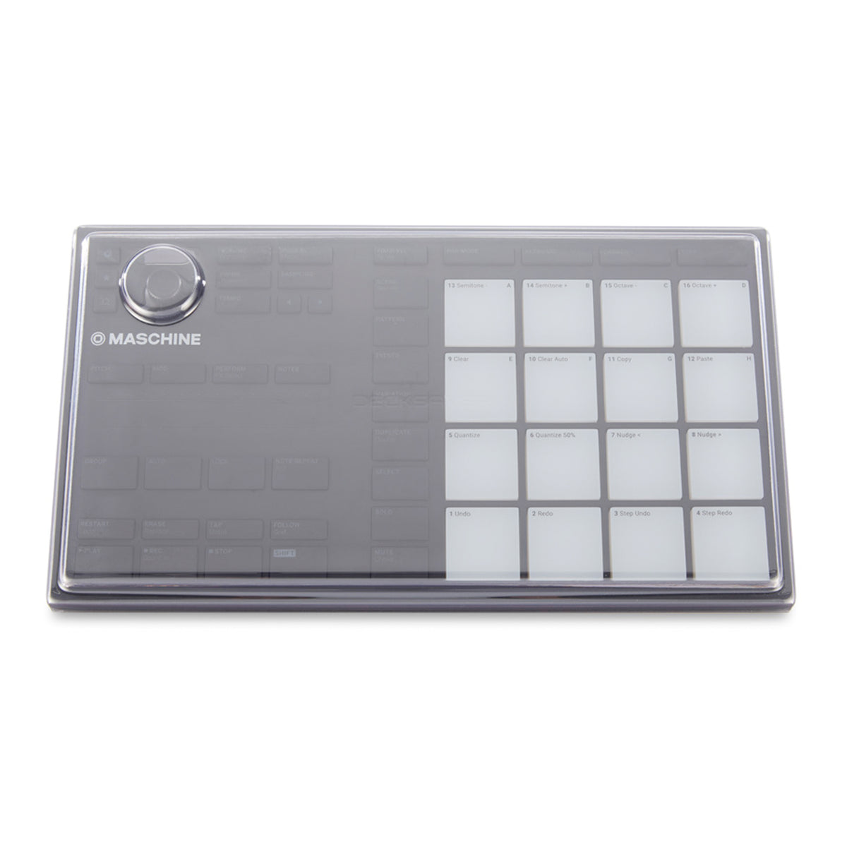Decksaver: Polycarbonate Dustcover For Native Instruments Maschine Mikro MK3 (DS-PC-MIKROMK3)