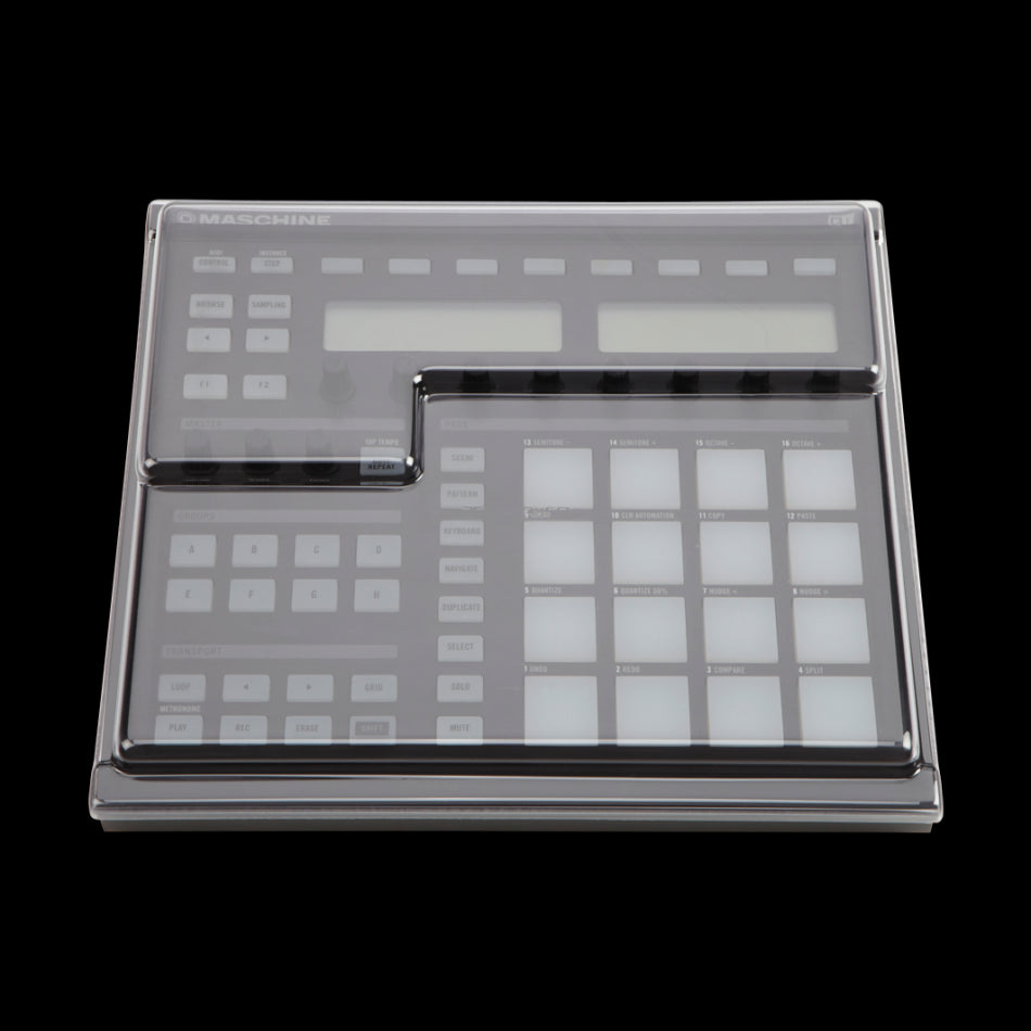 Decksaver: Dustcover for Native Instruments Maschine MK2 (DS-PC-MASCHINEMK2) top
