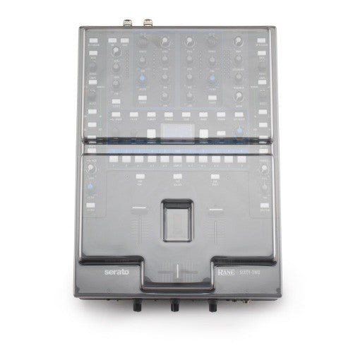 Decksaver: Polycarbonate Dust Cover for Rane 62 (DS-PC-RANE62) detail
