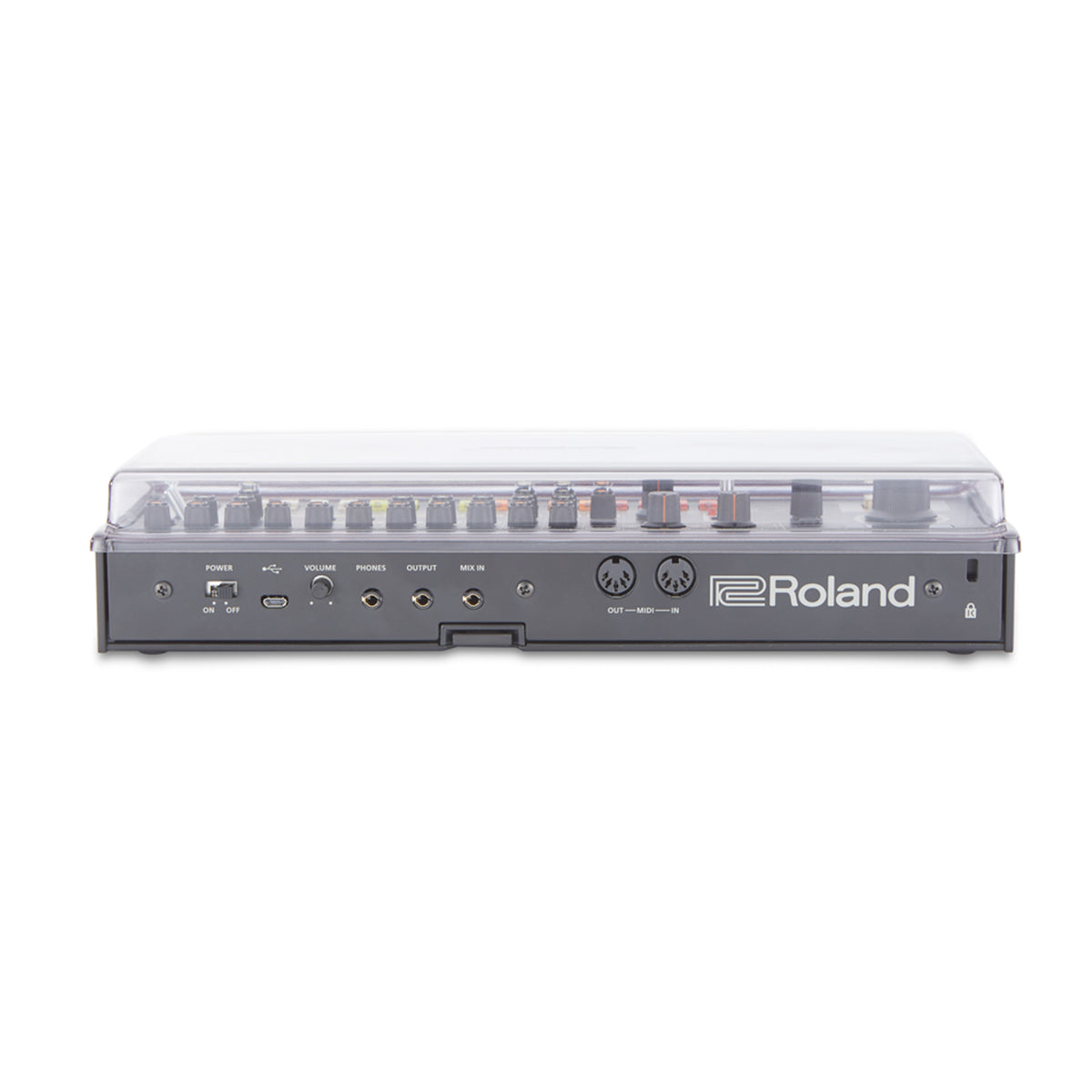Decksaver: Polycarbonate Dustcover For Roland Boutique Cover (DS-PC-BOUTIQUE)