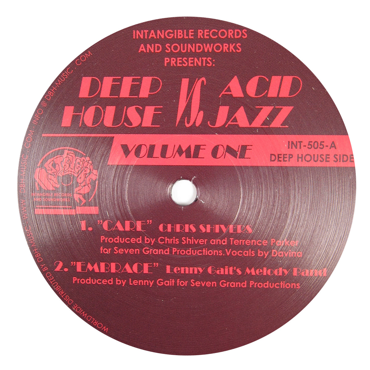 Intangible Records & Soundworks: Deep House Vs. Acid Jazz - Vol.1 Vinyl 12""