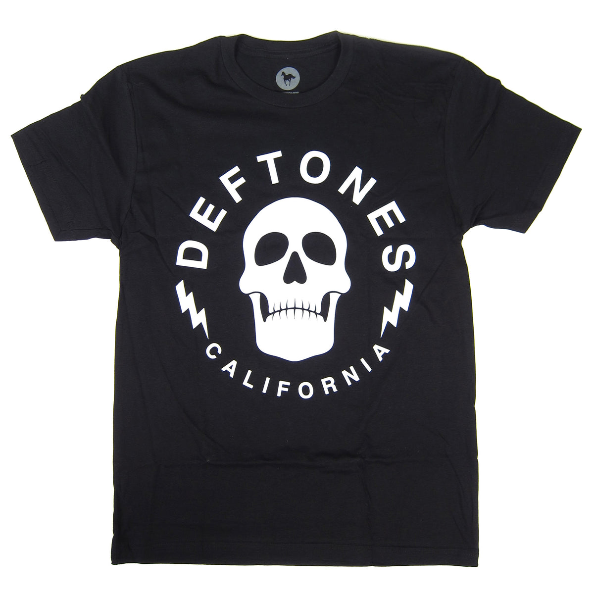 Deftones: Skullbolt California Tour Shirt - Black