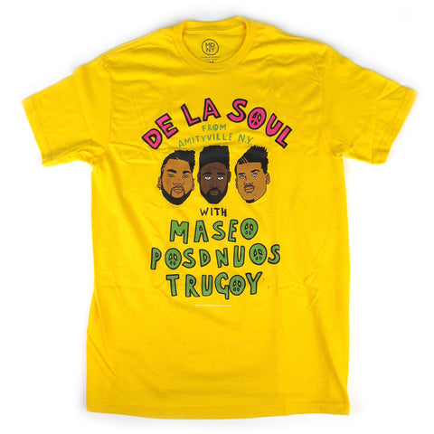 De La Soul: From Amityville Shirt - Yellow