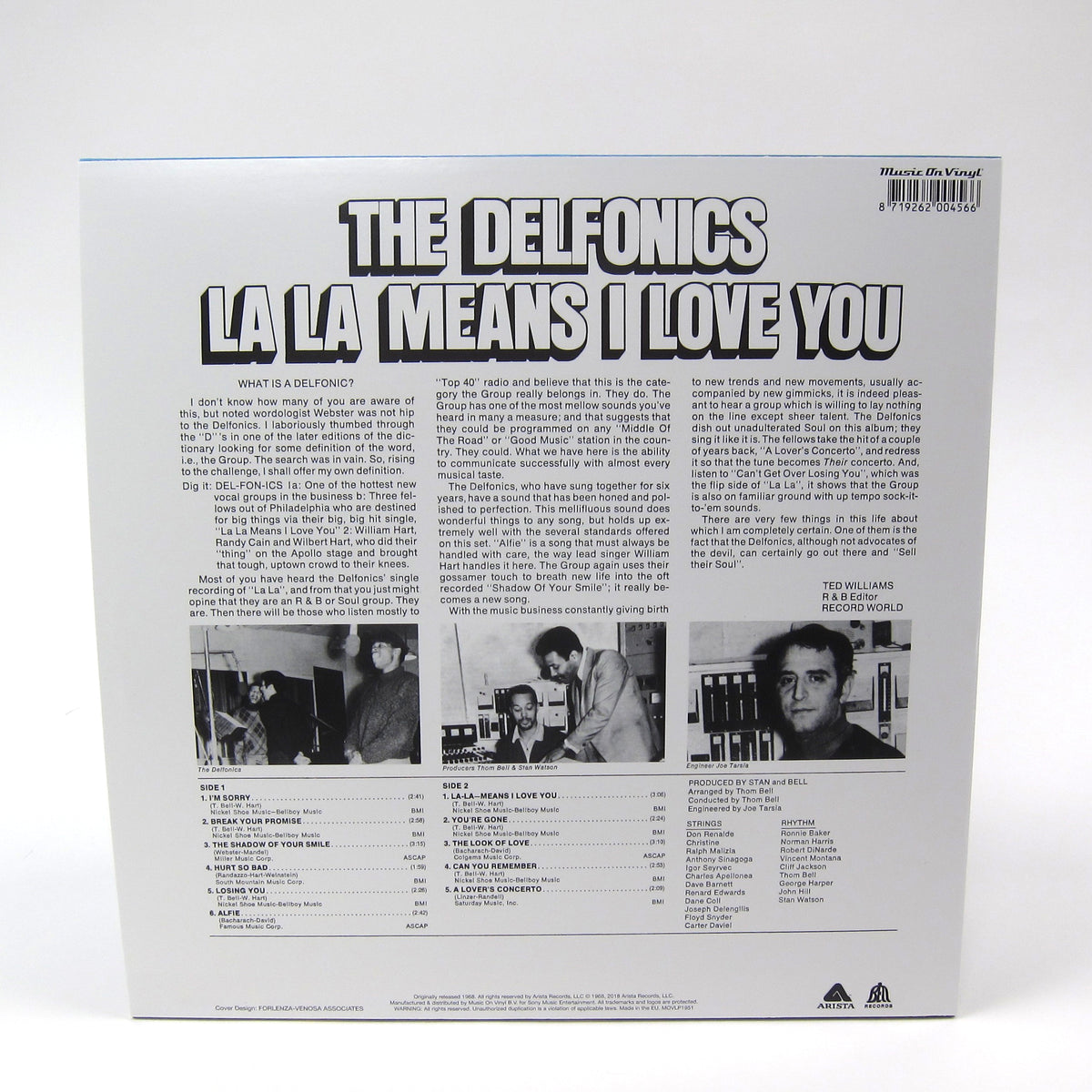 The Delfonics: La La Means I Love You (Music On Vinyl 180g) Vinyl LP