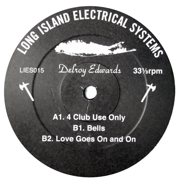 Delroy Edwards: 4 Club Use Only Vinyl 12""