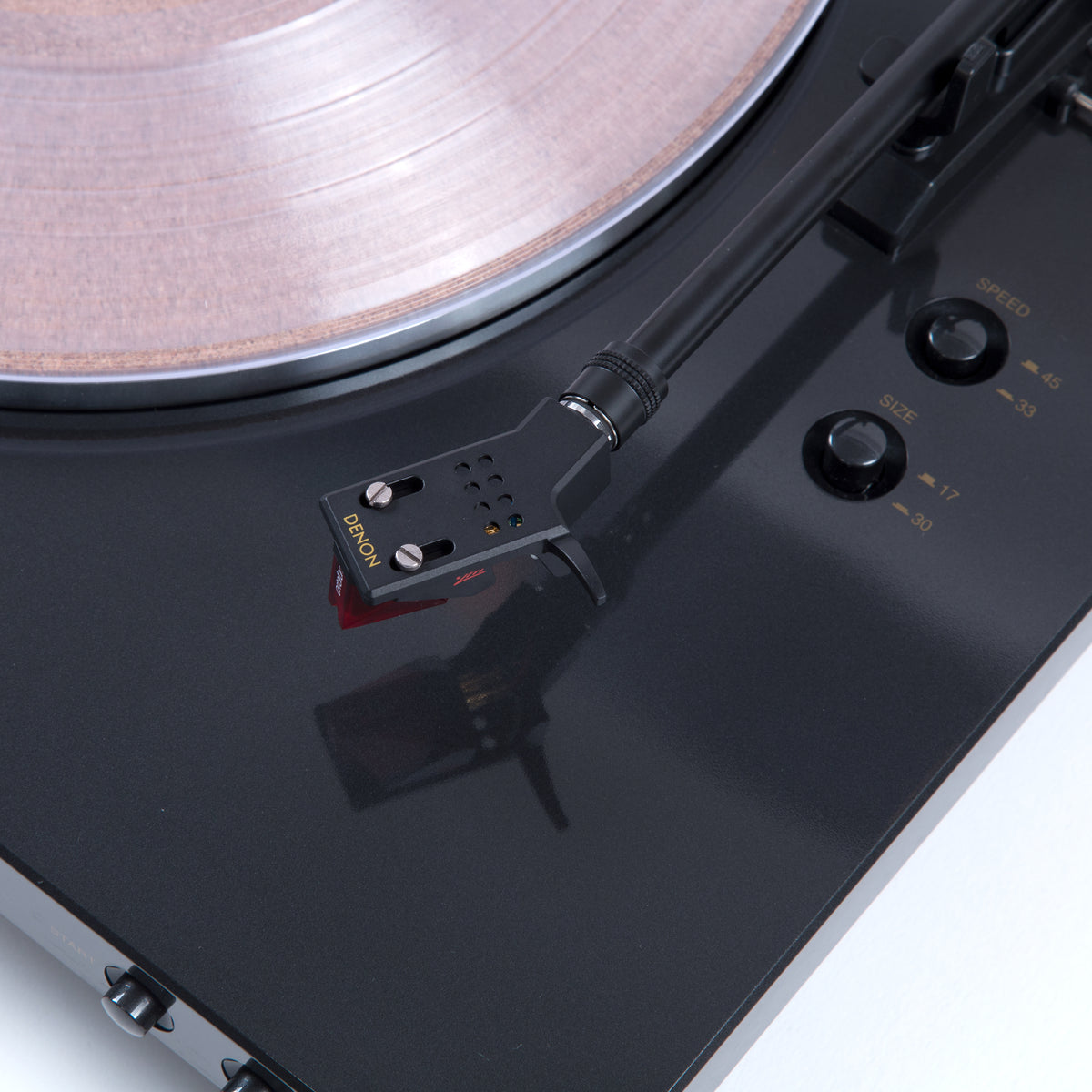 Denon: DP-300F Turntable + Ortofon 2M Red Upgrade (TTL Upgrade)