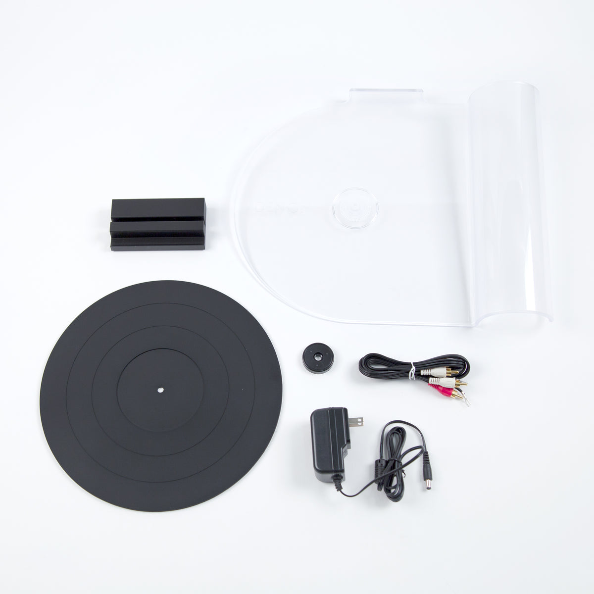 Denon: DP-450USB Turntable - White (DP450USBWT) contents
