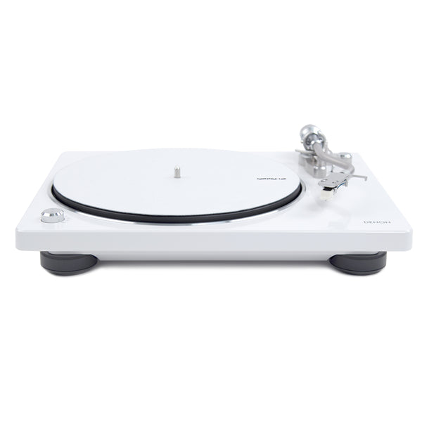 Denon: DP-400 Turntable - White (DP400WT)