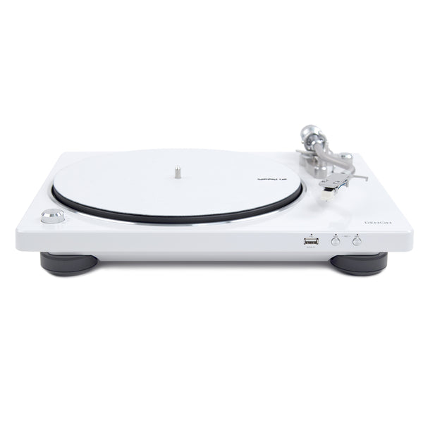 Denon: DP-450USB Turntable - White (DP450USBWT)