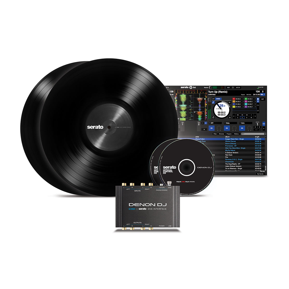 Denon DJ: DS1 Serato Digital Vinyl Audio Interface
