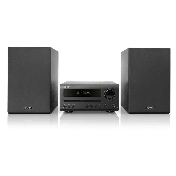 Denon: D-T1 Hi-Fi Mini System w/CD Player + Bluetooth