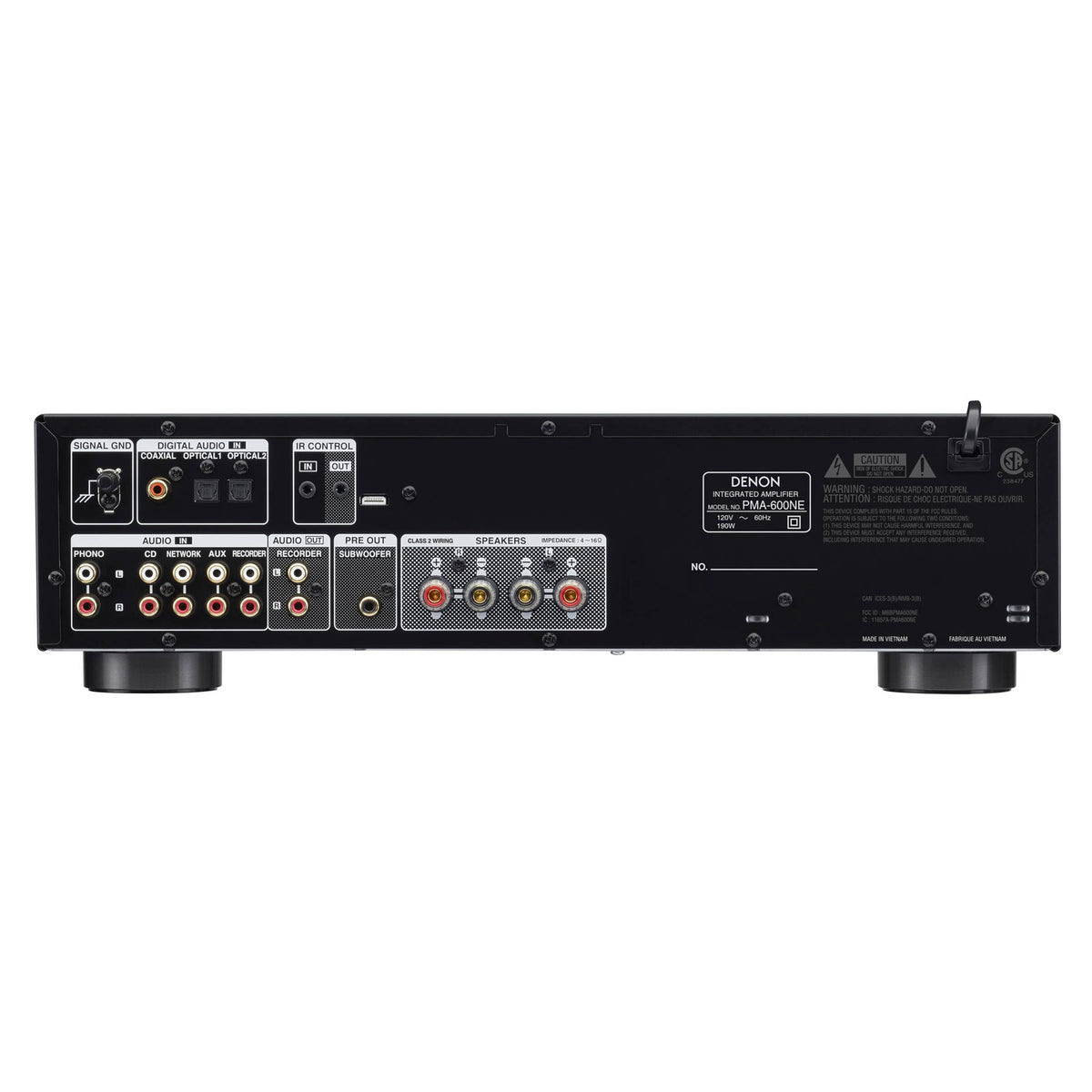 Denon: PMA-600NE Integrated Amplifier w/Bluetooth