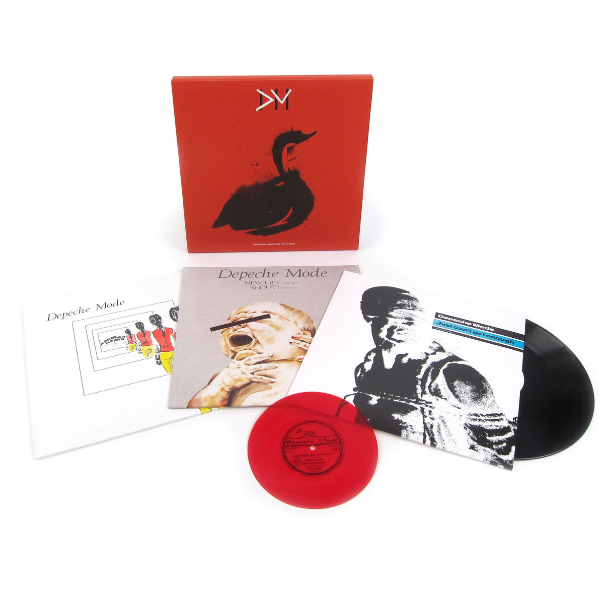 "Depeche Mode: Speak & Spell - 12"" Singles Collection Vinyl 3x12""+Flexidisc"