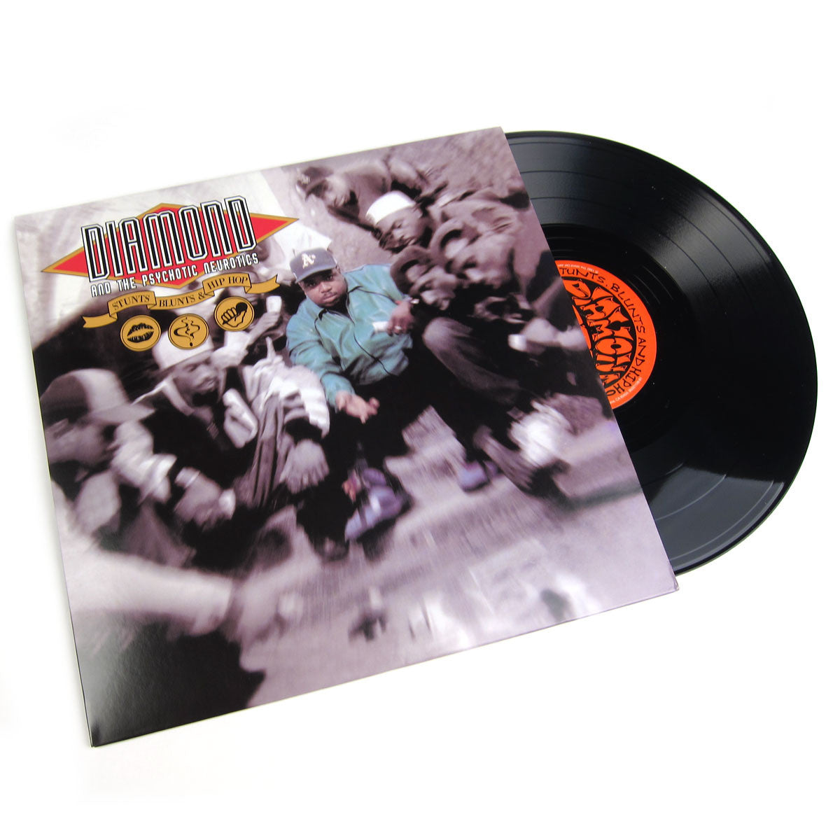 Diamond D & The Psychotic Neurotics: Stunts, Blunts and Hip Hop Vinyl 2LP