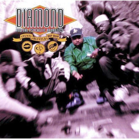 Diamond D: Stunts, Blunts, & Hip Hop 2LP