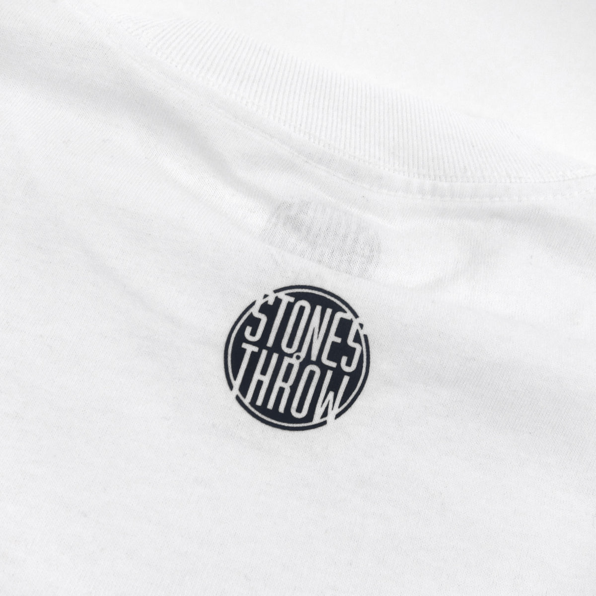 Stones Throw: Dilla Donuts Stencil Shirt - White / Black