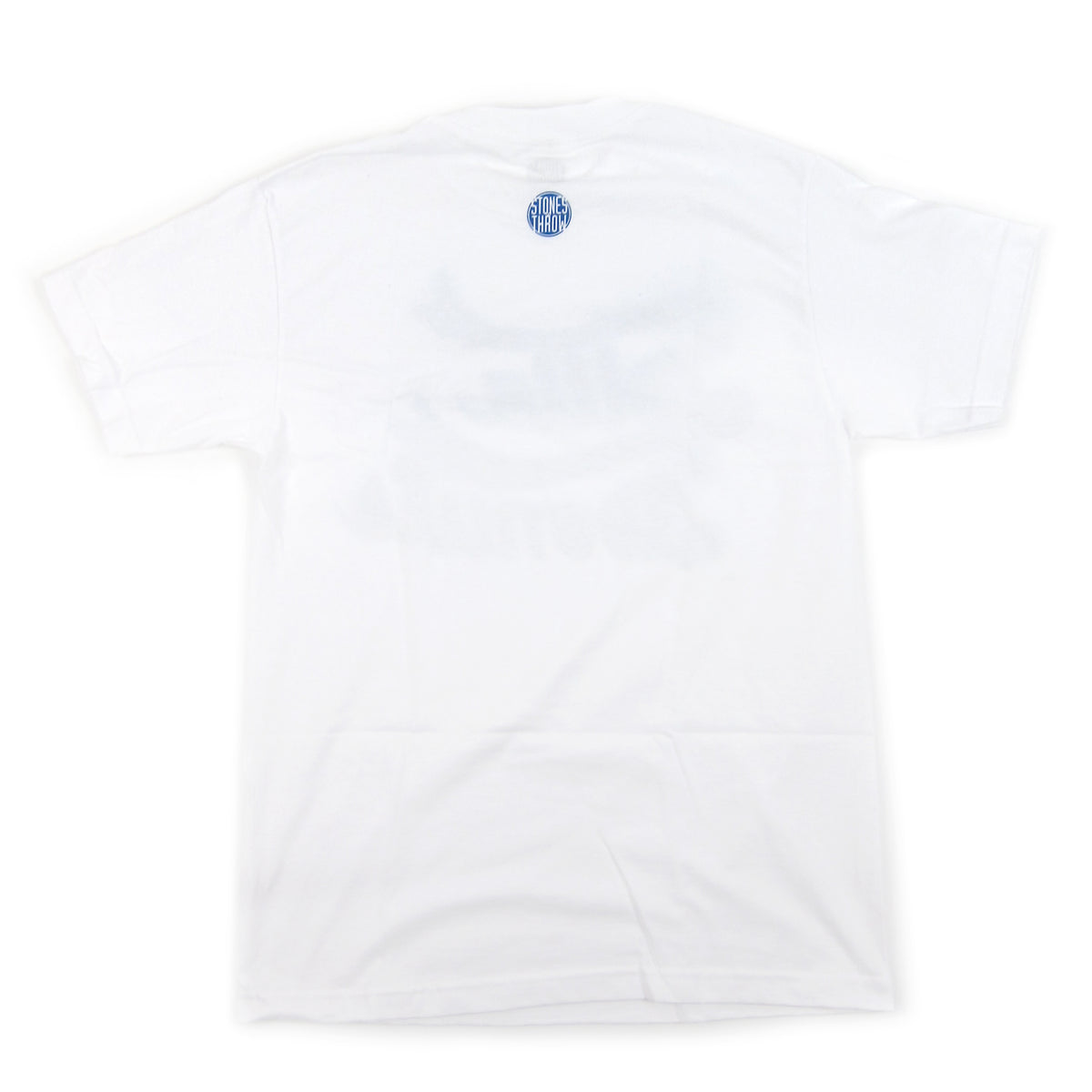 Stones Throw: Dilla Donuts Stencil Shirt - White / Blue