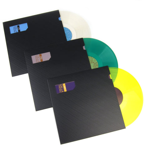J Dilla: Dillatronic Vol.1-3 (Colored Vinyl) Vinyl LP Album Pack