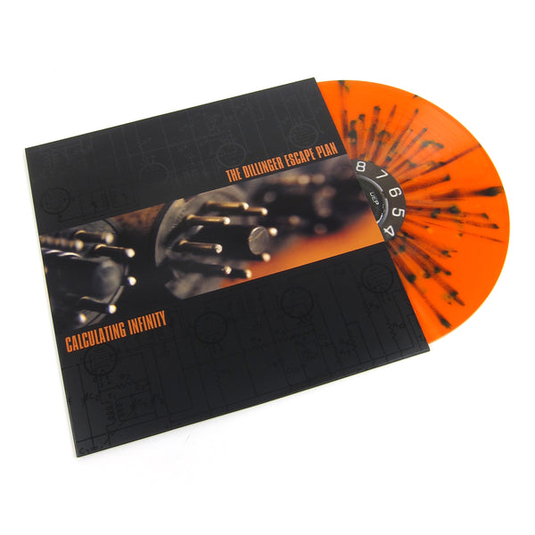 The Dillinger Escape Plan: Calculating Infinity (Orange Splatter Colored Vinyl) Vinyl LP