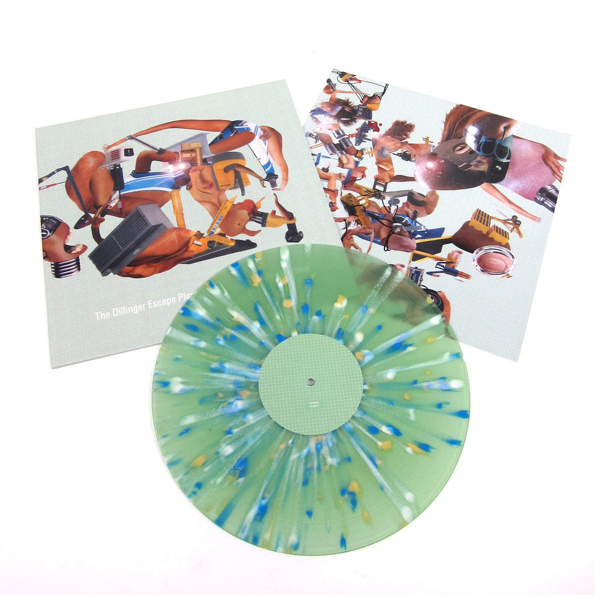The Dillinger Escape Plan: Miss Machine (Green Splatter Colored Vinyl) Vinyl LP