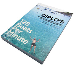 Diplo: 128 Beats Per Minute - Diplo's Visual Guide to Music, Culture, and Everything in Between Book - SIGNED