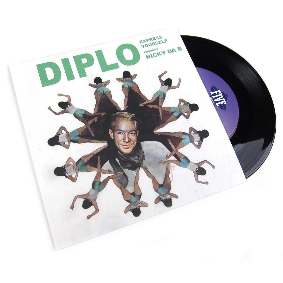 Diplo: Express Yourself (feat. Nicky Da B) Vinyl 7""