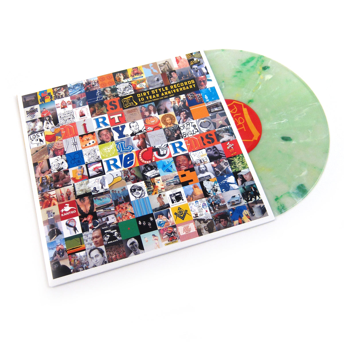 Dirt Style Records: 10 Year Anniversary (Splatter Colored Vinyl) Vinyl LP