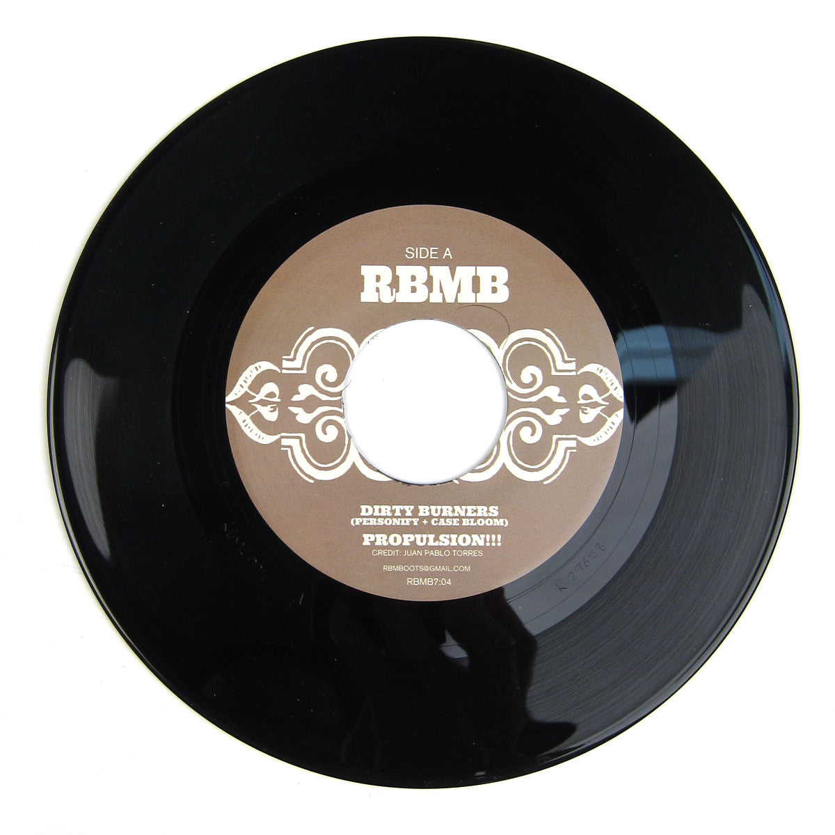 Dirty Burners: Propulsion!!! (Latin Funk Edits) Vinyl 7""
