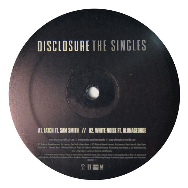 Disclosure: The Singles (Latch, White Noise, You & Me) EP 2