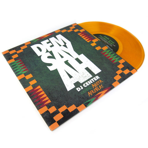 DJ Center: Dem Say Ah (Colored Vinyl) Vinyl 10""