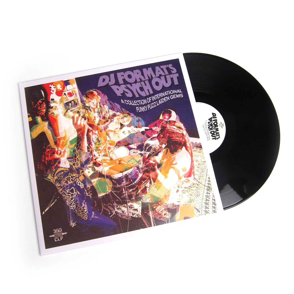 DJ Format: Psych Out - A Collection Of International Funky Fuzz Laiden Gems Vinyl 2LP