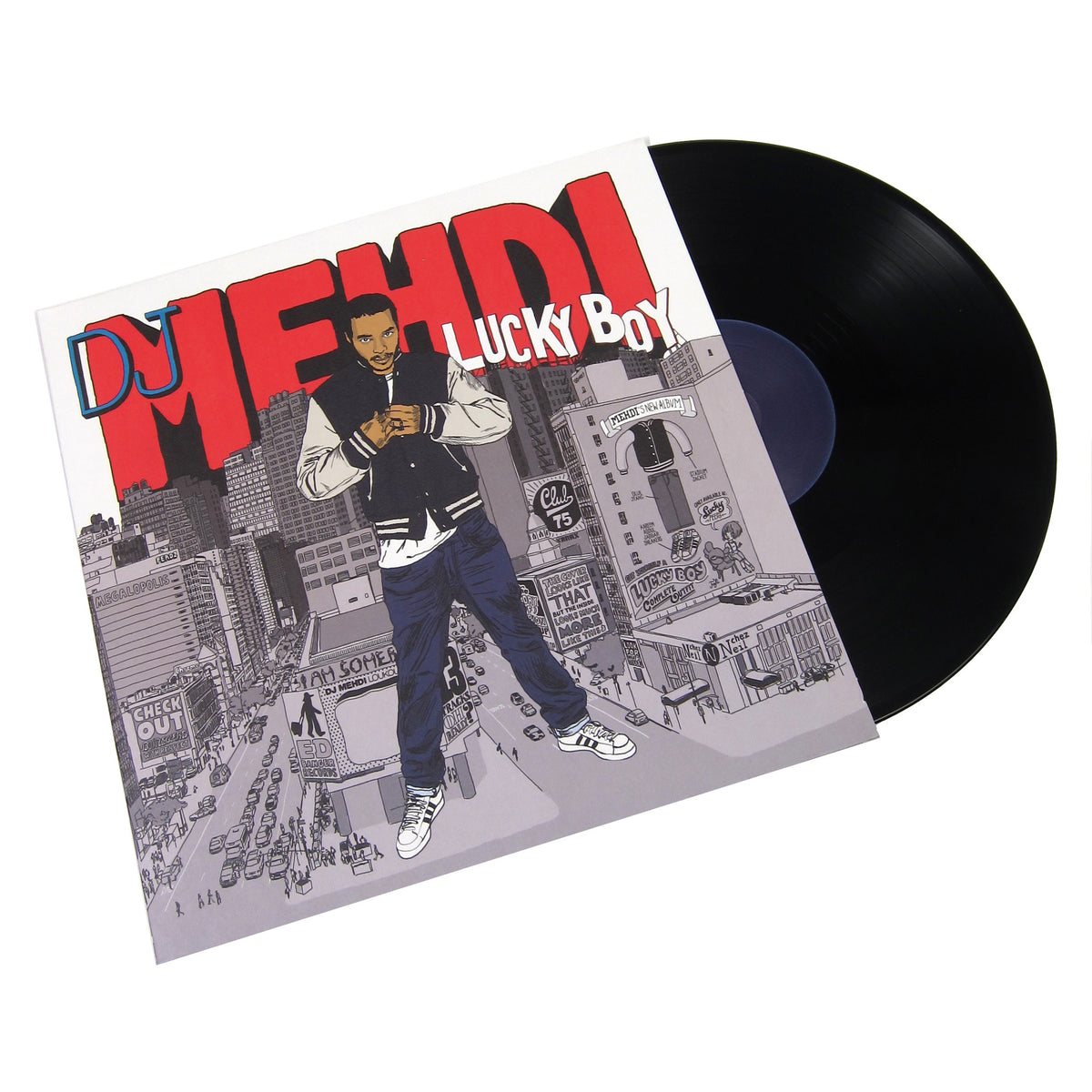DJ Mehdi: Lucky Boy (10th Anniversary Edition) Vinyl LP+CD