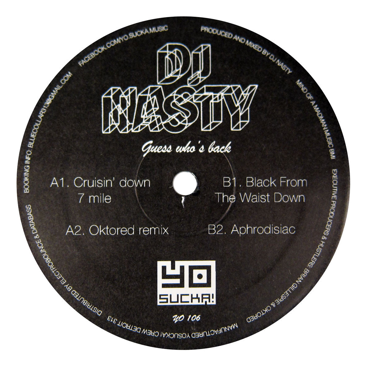 DJ Nasty: Guess Who's Back Vinyl 12""